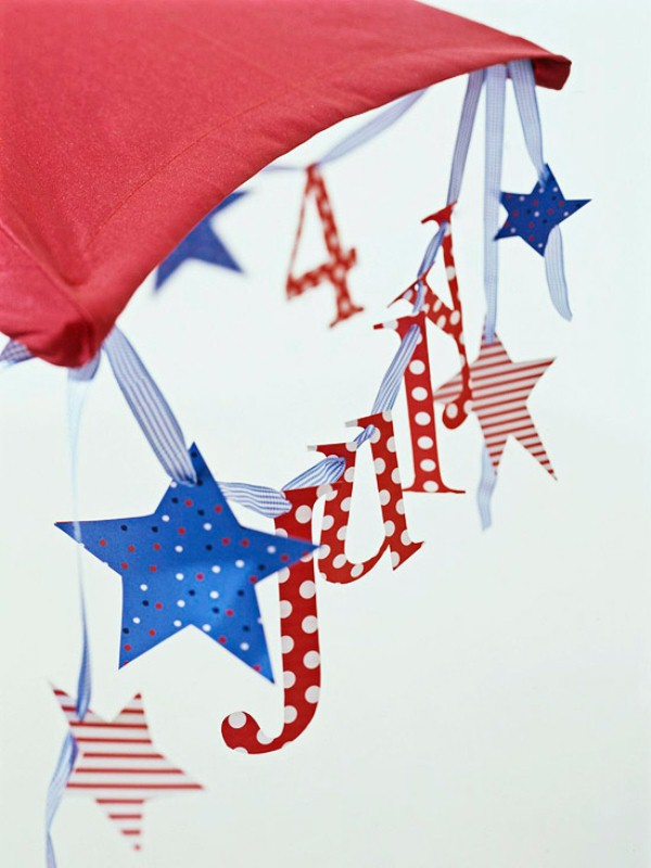 19 Paper Decoration Ideas For The 4th of July