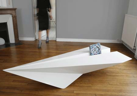 Paper Plane Coffee Table by Lorraine Brennan