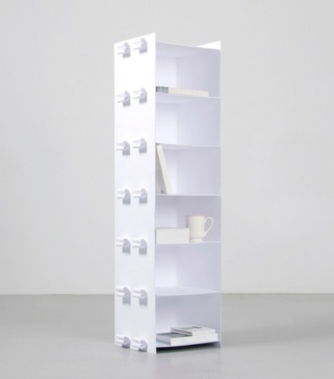 Paper Shelf To Celebrate The Invention Of Paper Making