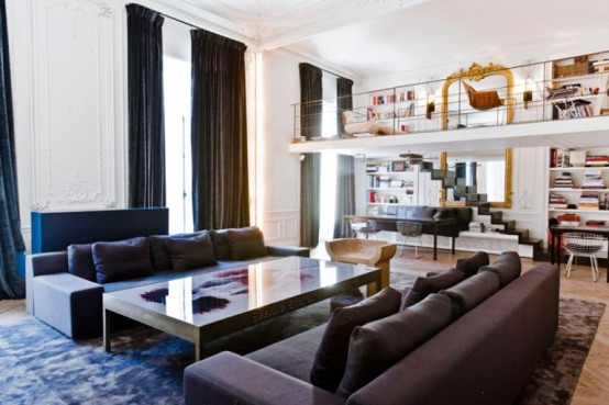 Parisian Apartment With Versailles Charm