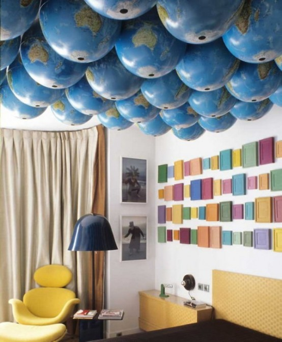 Parisian Art Deco Loft In Bright Colors