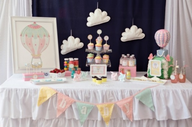 pastel gender neutral baby shower