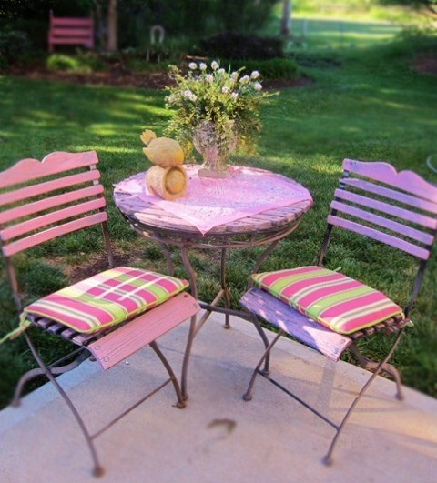 Great Pastel Patio Design Ideas