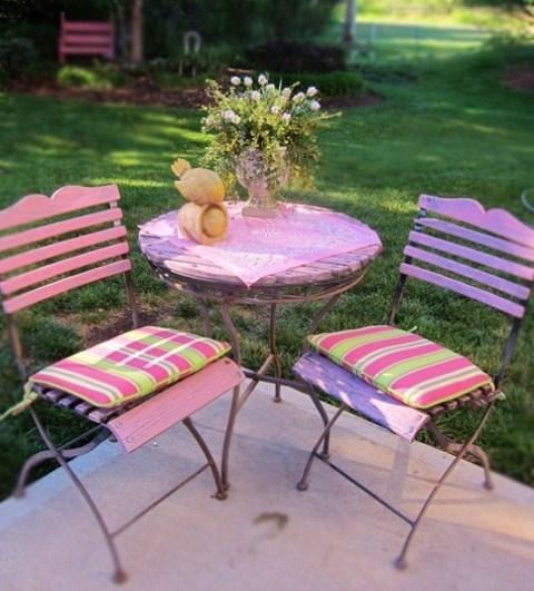 Vintage Pastel Patio Design Ideas