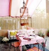 Pastel Patio Design Ideas