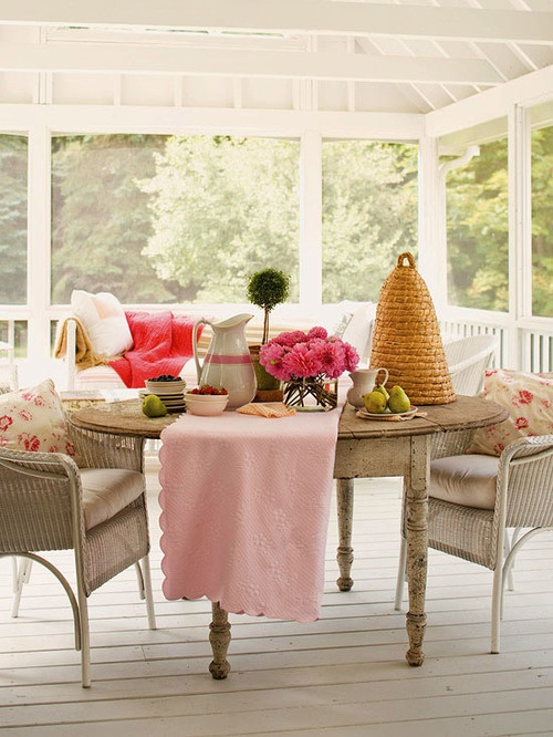56 Cutie Pastel Patio Design Ideas