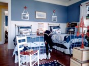 Patriotic Boys Bedroom For Two