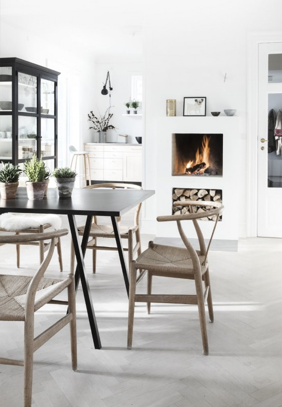 Peaceful And Lovely Scandinavian Style Villa Filled With Natural Light