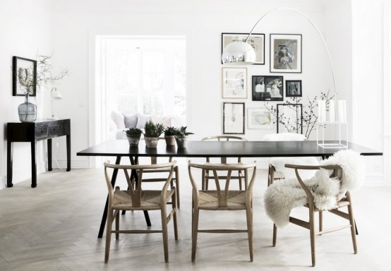 lovely scandinavian style interior design | Peaceful And Lovely Scandinavian-Style Villa Filled With ...
