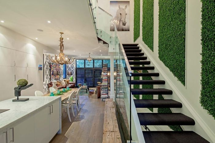 Picture Of peaceful indoor living wall designs for any home  3
