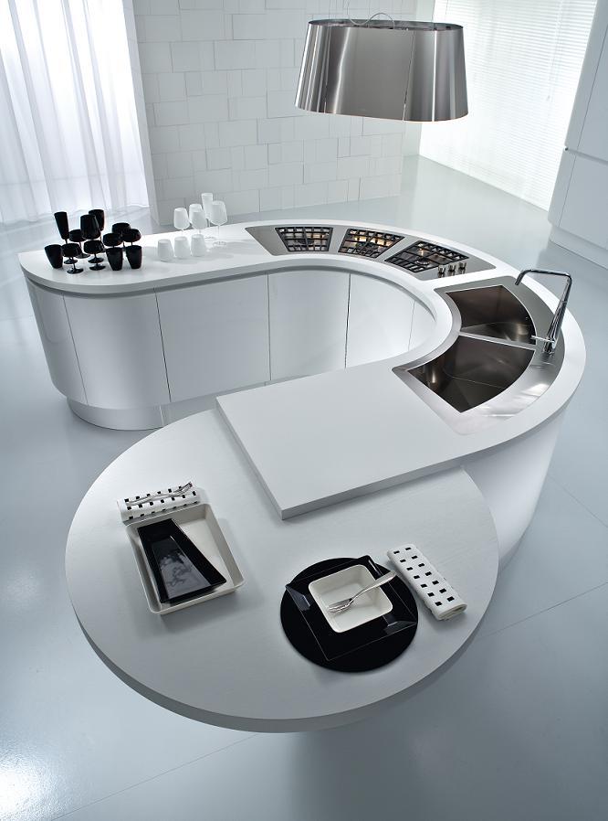 pedini kitchen round countertops