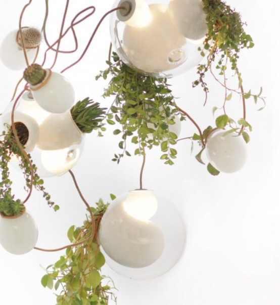 Pendant Home Garden And Original Chandelier In One