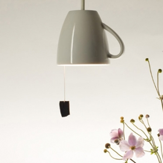 Extraordinary Pendant That Looks Like Tea Cup – Pendant Teelight
