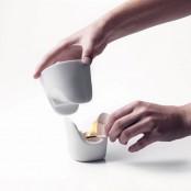 personal chocolate fondue tealight