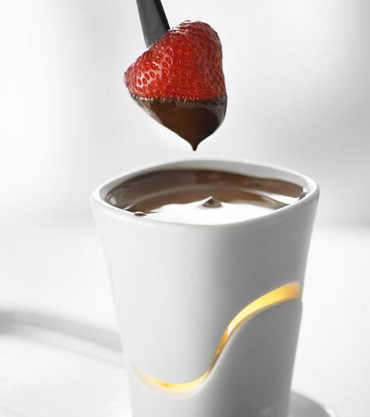 personal chocolate fondue