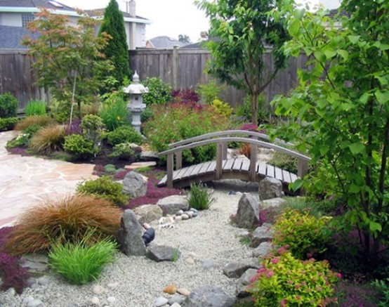 Subtle color contrast and bold textural differences can create an interest so necessary in a minimalist garden.