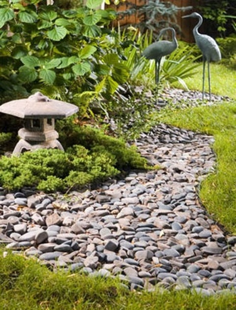 65 philosophic zen garden designs digsdigs for Rock garden bed ideas