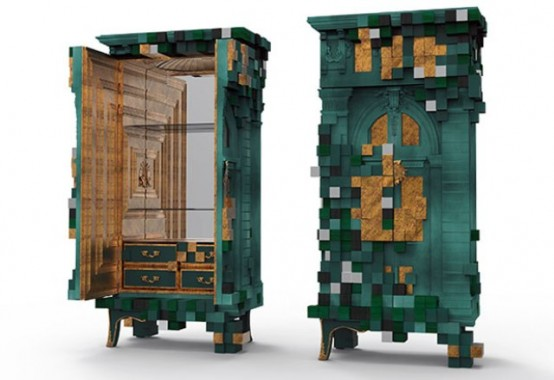 Piccadilly Cabinet: A Mixture Of Futuristic And Classical
