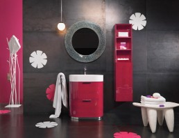 Pink Bathroom Vanities Regia