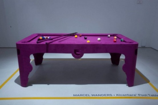 Pink Pool Table