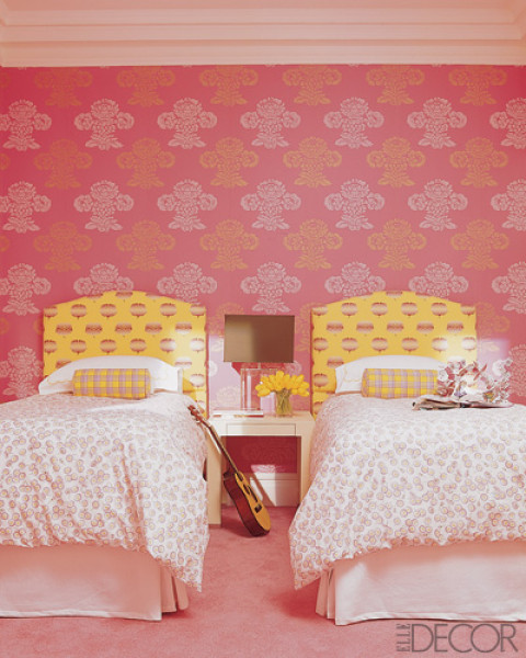 Pink Two Girl Bedroom