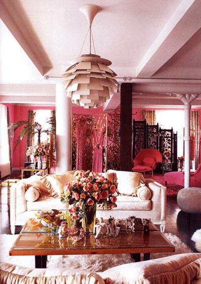 Pinky Living Room