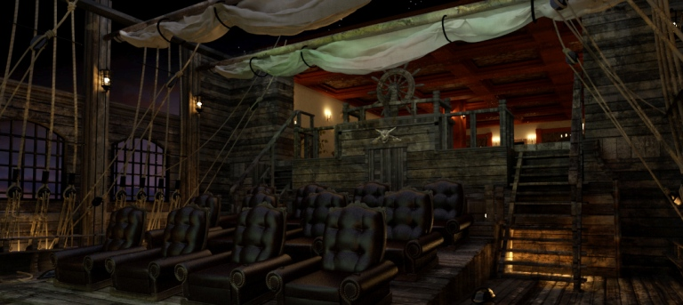 The pirates of the caribbean home theater digsdigs