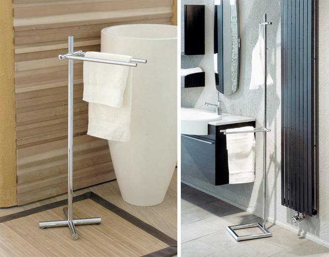 Bathroom Towel Stand. Metro Chrome 3 Tier Towel Stand Modern ...