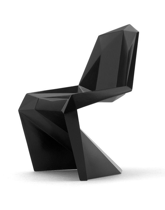 pixelated verner panton chair by united nude digsdigs. Black Bedroom Furniture Sets. Home Design Ideas