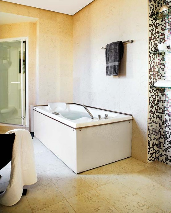 Pixilated Bathroom Design