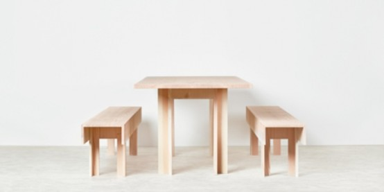 Planks Furniture Collection With Hidden Storage Spaces