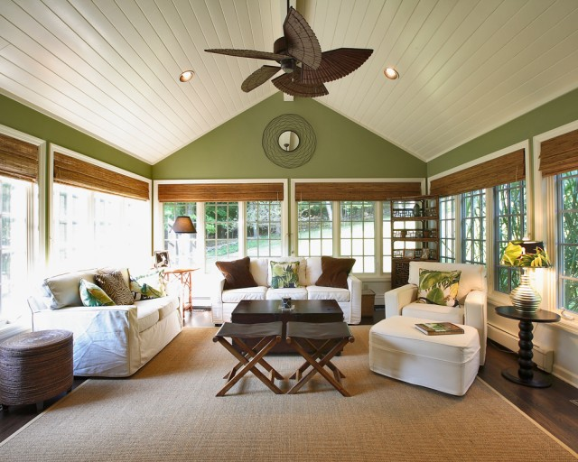 Plantation Style Sunroom