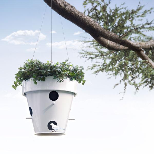 Planter And Bird Feeder