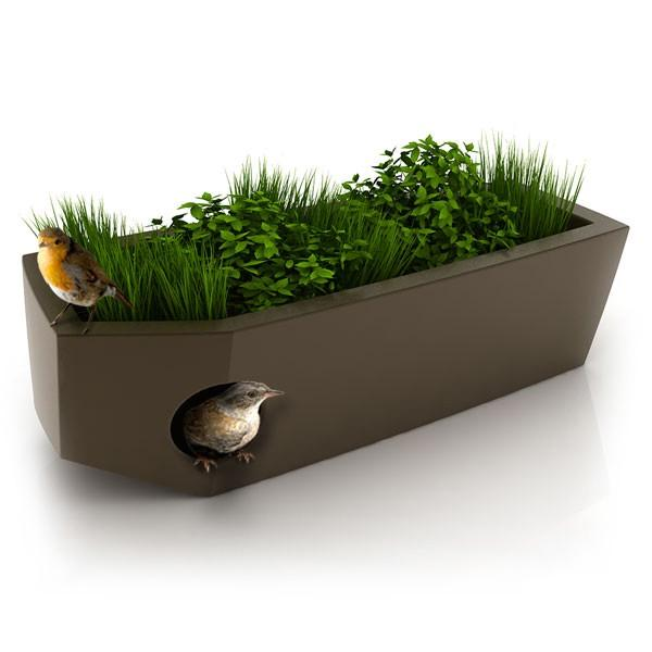 Cool Modern Planters That Doubles As Pet And Bird Houses  DigsDigs