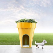 Planter And Pet House