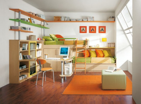 Kids Bedroom from Platone Collection