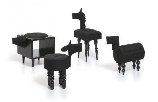 Playful Chairs Collection In The Shapes Of Animals by Biaugust Design