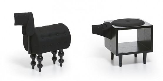 Playful Chairs Collection In The Shapes Of Animals