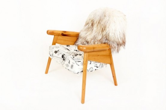 Playful Furniture Collection With Unexpected Elements