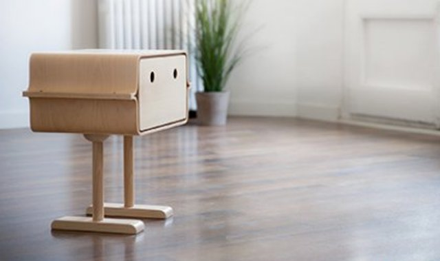 Playful Gobi Storage Piece Inspired By Robots