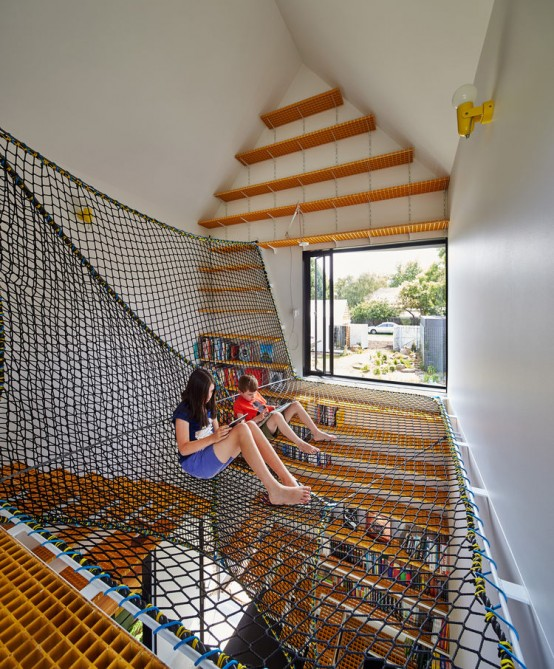 Playful House Renovation Resembling A Whole Village