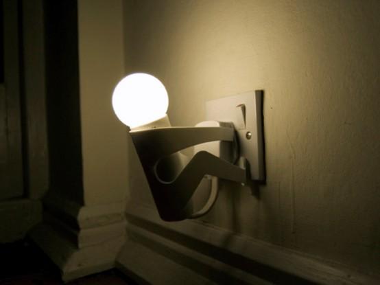 Wood Night Light Lamps