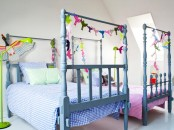 Playful Shared Kids Bedroom