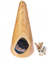 Plywood Indoor Dog Lounge