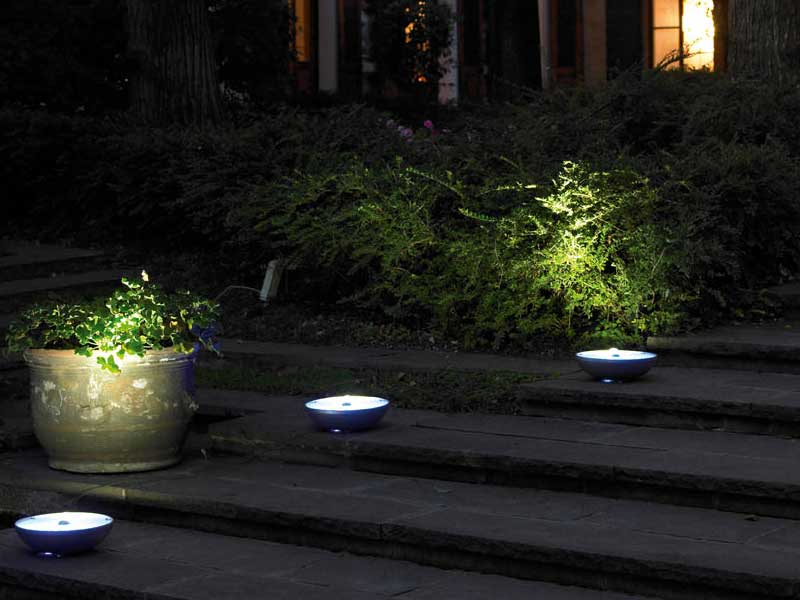 Led outdoor lights pollicino from antonangeli digsdigs for Led garden lighting ideas