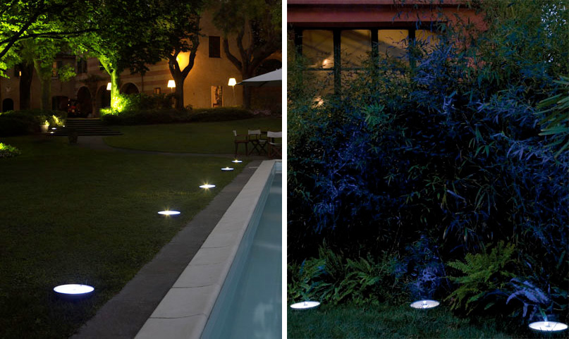 Led outdoor lights pollicino from antonangeli digsdigs for Fixture exterieur led