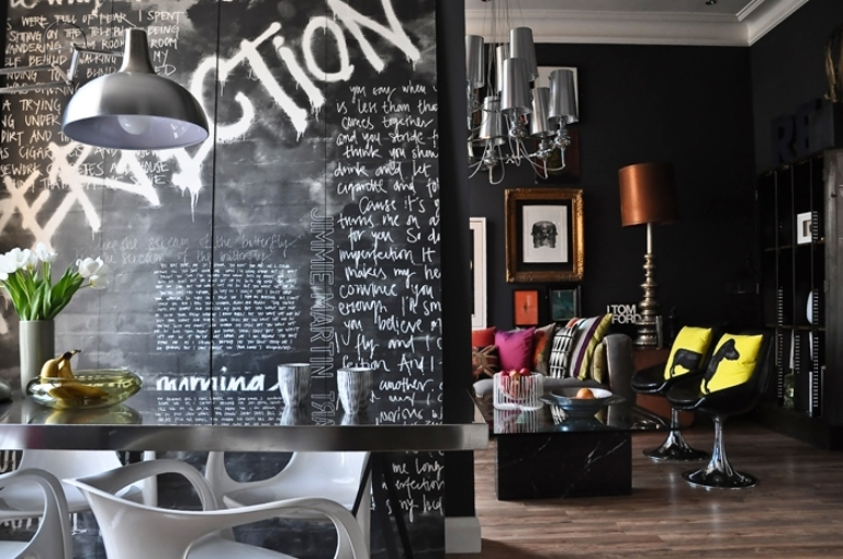 Pop Art And Art Deco London Apartment