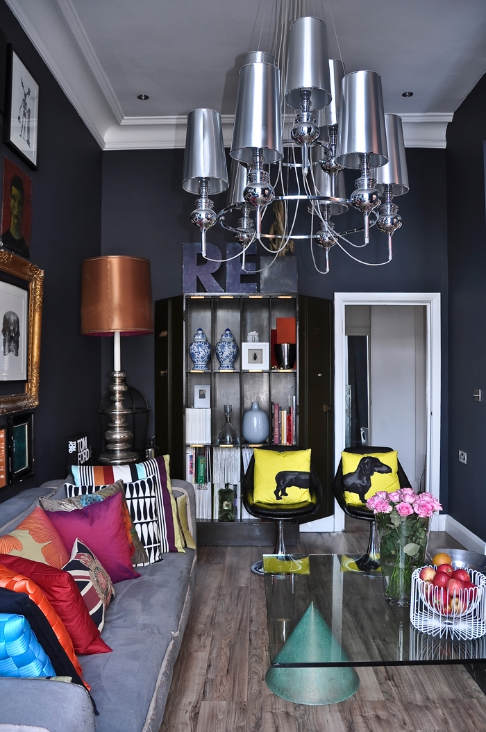 Awesome pop art and art deco london apartment digsdigs - Deco pop art ...
