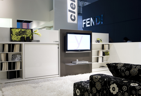 Poppi Theatre Transformable Tv Unit With Bed
