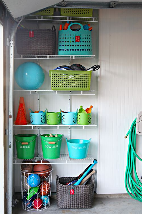 Picture Of practical and comfortable garage organization ideas  11